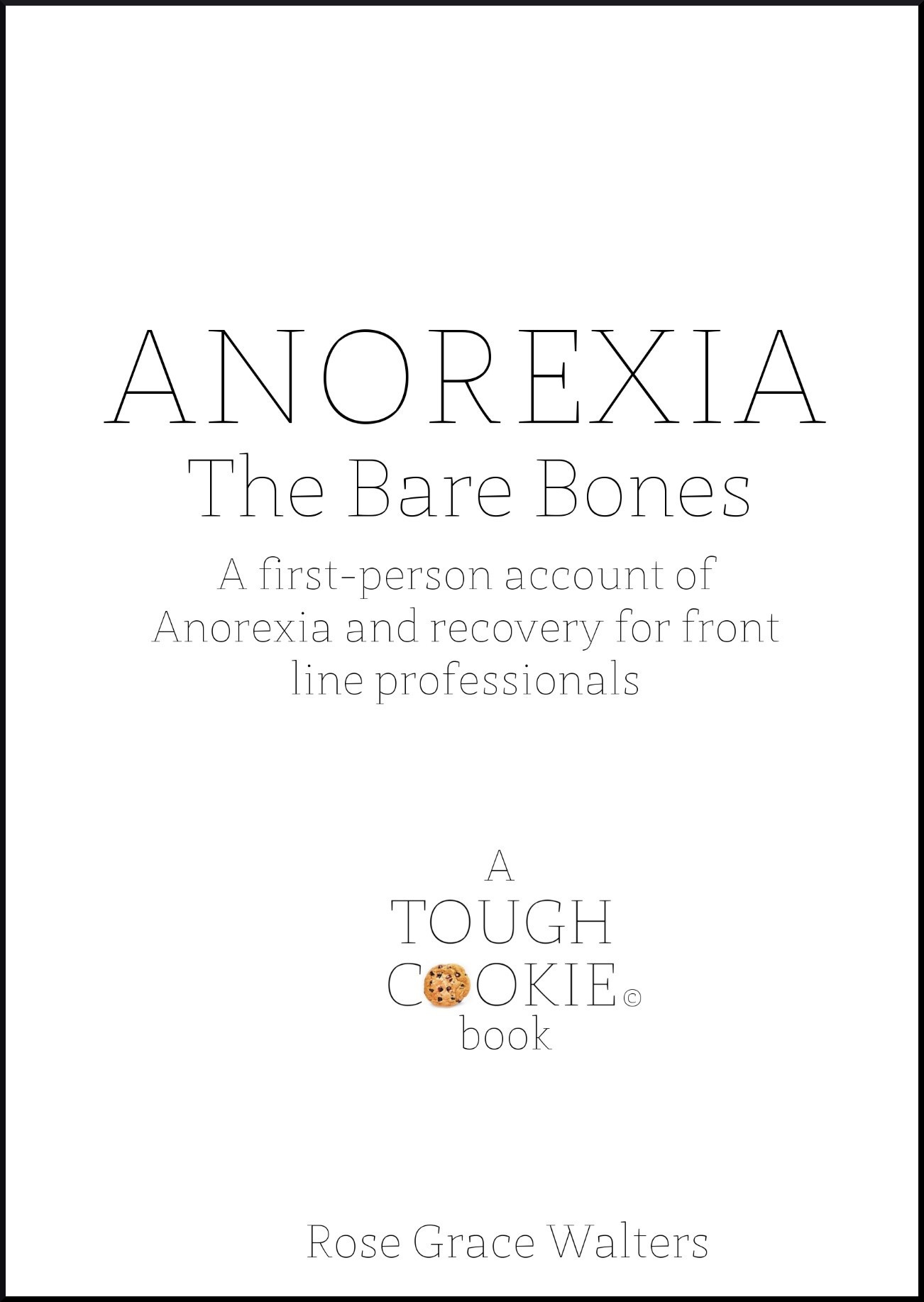 ANOREXIA BARE BONES COVER WITH BORDER